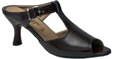 Belle Femme Women Brown Heels