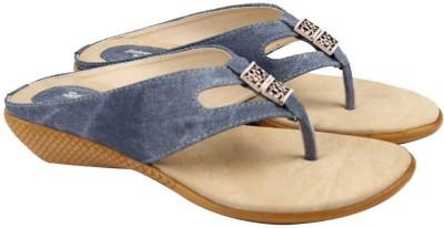 Comfort Stylish Women Blue, Beige Wedges