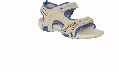 Senzo Men Grey, Blue Sandals