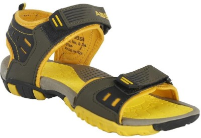 ABS Boys Green, Yellow Sandals