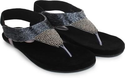 Do Bhai 100100-grey Women Grey Flats