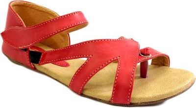 Russo Fashion Designer Women Red Sandals