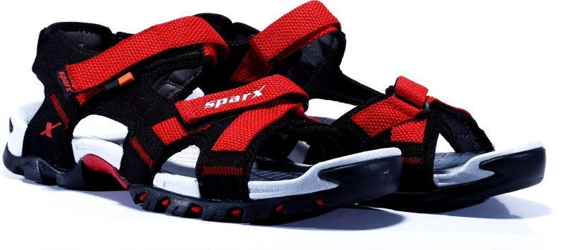 Sparx Men BlackRed Sandals