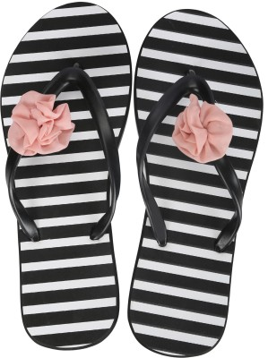 Flipside CarnationBlack Women Black Flats