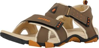 Lotto Men Brown, Beige Sandals