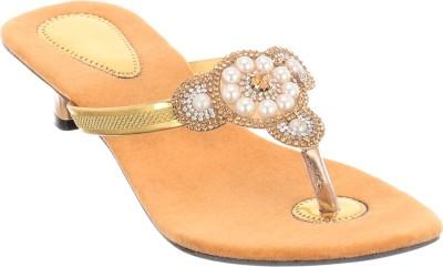 Brandvilla Women Beige Heels