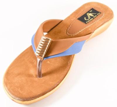 Jayn Martin Women Blue Flats