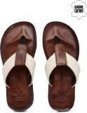 WROGN Men Off White Sports Sandals