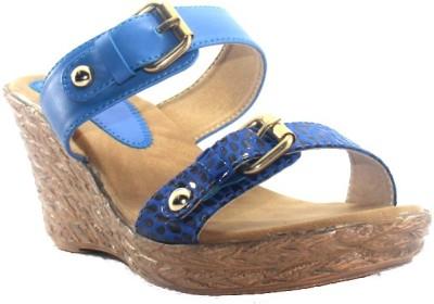 PAWAR Women Blue Heels