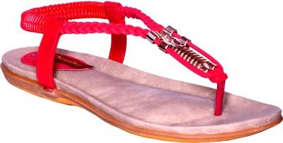Credos Women Red Flats