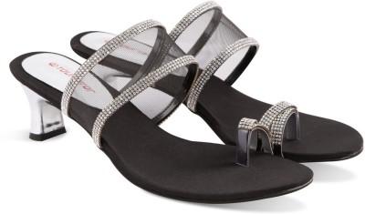 Touristor Women Black Heels