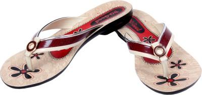 PU-GOOD Girls Red Flats