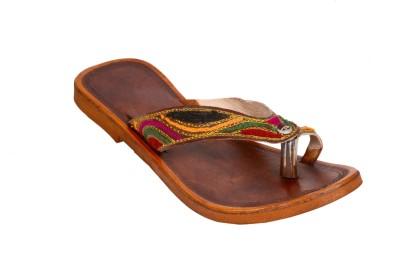 Reevaan Women Brown Flats