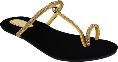 Authentic Vogue Women Black Flats