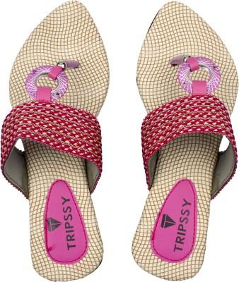 Tripssy Women Pink Heels