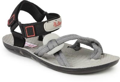 Do Bhai 8113 Men Grey Sandals