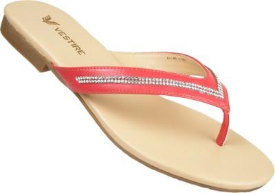 Vestire Women Red Flats