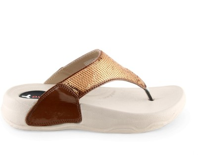 Pure- Welcome Women Brown Flats