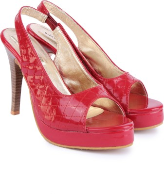 Urban Woods Women Red Heels