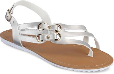 Yepme Women Silver Flats