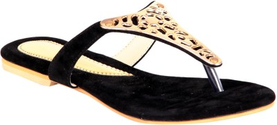 Soft & Sleek Black Elegant Girls Black Flats