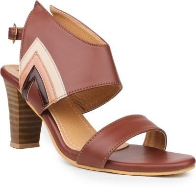 Fiorella Women Brown Heels