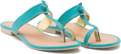ALETA Women Blue Flats
