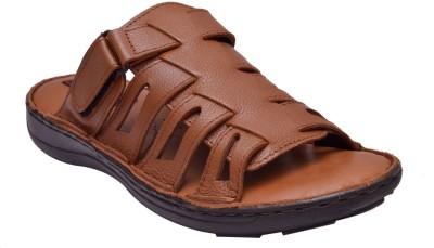Enzo Cardini Men Brown Sandals