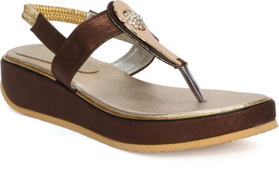 Fadrin Women Brown, Brown Heels