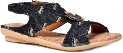 Crayon&collection Girls Black Sandals