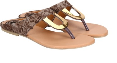 Pariz Women Brown Flats