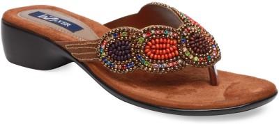 La Zilver Women Brown Flats