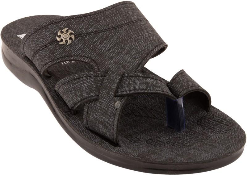 Roayals Men Black::Slate Gray Sandals