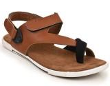 Docshu Men Tan Sandals