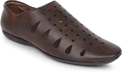 Adreno Men Tan Sandals