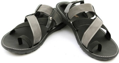 Guardian Men Black, Grey Sandals