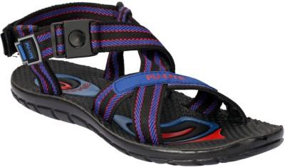 Pu Lite-Today Men Black Sandals