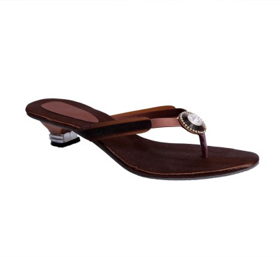Hitansh India Women Brown Heels