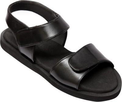 Healthsole Women Black Sports Sandals
