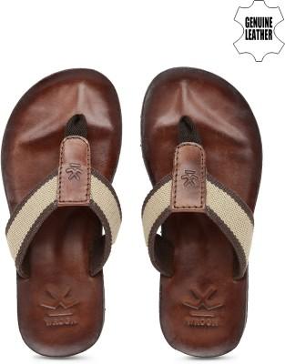 WROGN Men Brown Sports Sandals
