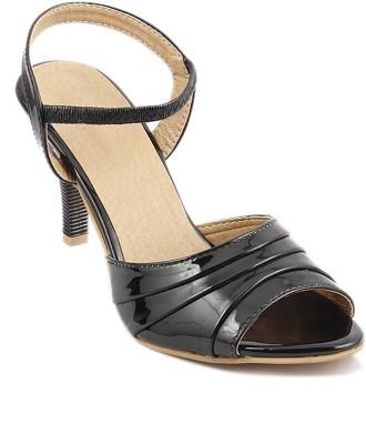 SANDHILLS Women Black Heels