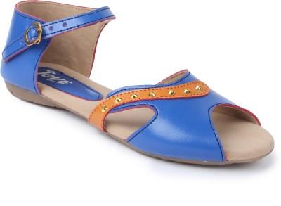 Jove Women Blue Flats