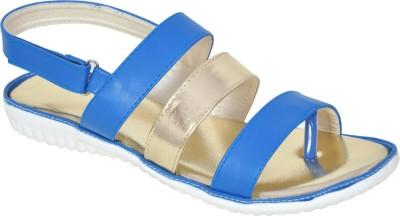 Shoe Dice Women Blue Sandals