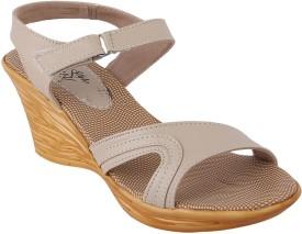 Style Buy Style Women Cream Sports Sandals