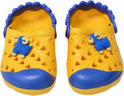 Crocslite Boys, Girls Yellow Sandals