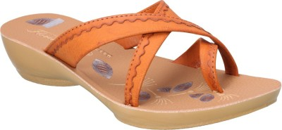 Action Shoes Women Tan Wedges