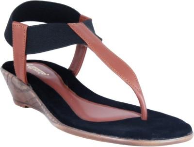Legsway Women Tan Flats