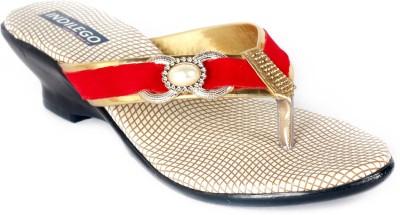 INDILEGO Women Red Heels