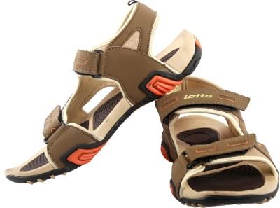 Lotto Rockstar Men Brown, Beige Sandals