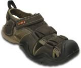 Crocs Men Espresso Sandals